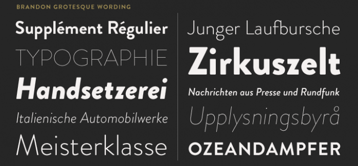 Brandon Grotesque Font - Download Fonts