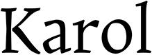 Karol font