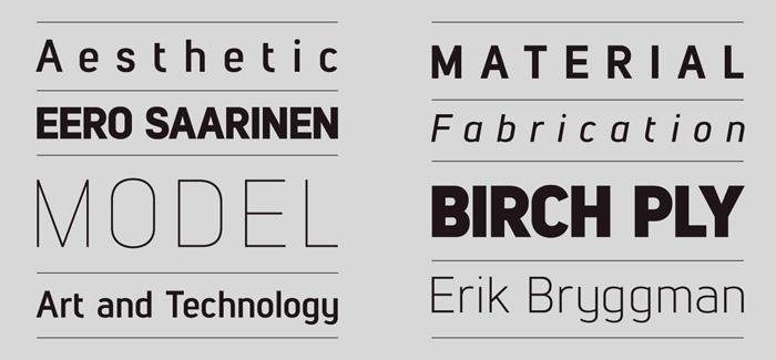 lintel modern sans serif font