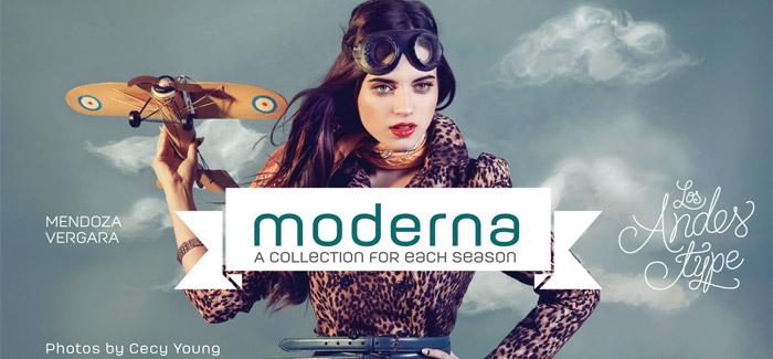 Moderna Unicase Medium free font