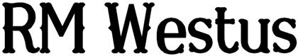 RM Westus font