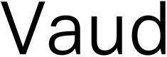 Vaud font