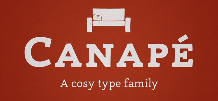 Canape font