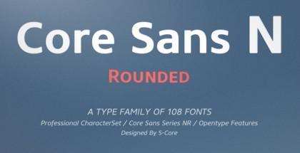 Core Sans NR Family