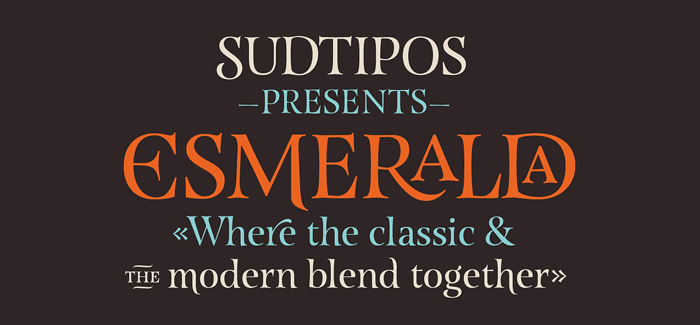 Esmeralda pro font