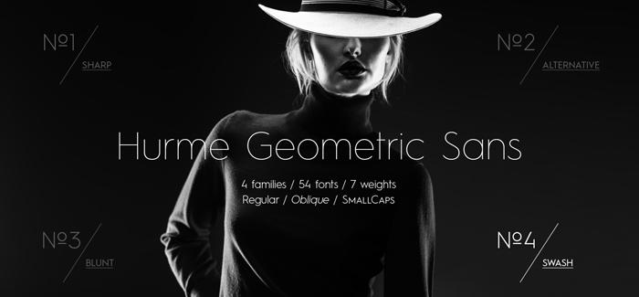 Hurme Geometric Sans No4 font