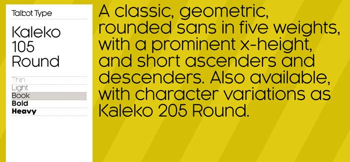 Kaleko 105 Round