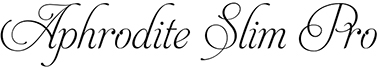 Aphrodite Slim Pro font