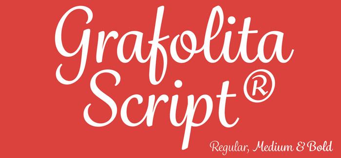 Grafolita Script font