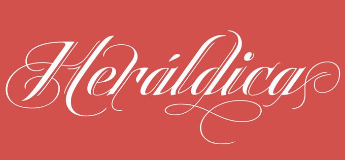 Heraldica Script font