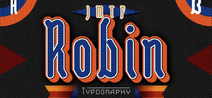 JMTF Robin font