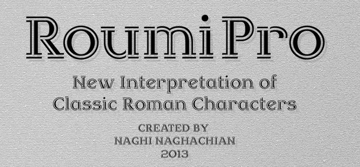 Roumi Pro font