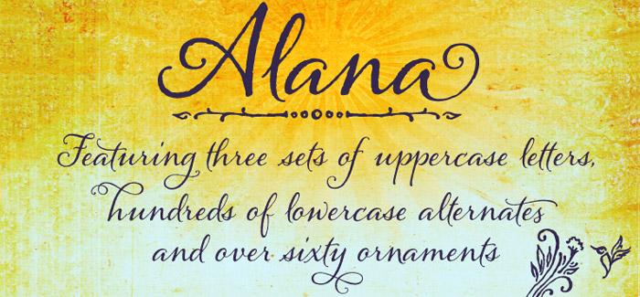 Alana Pro font