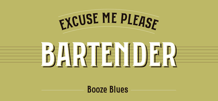 Bartender font