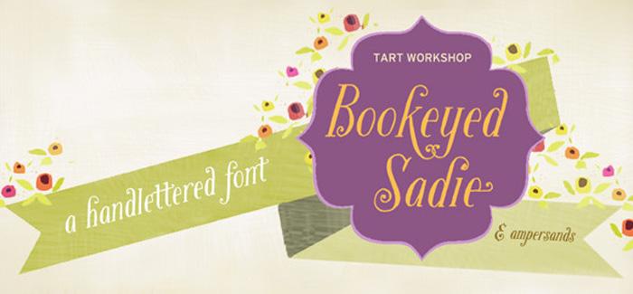 Bookeyed Sadie font