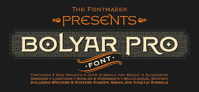 Bolyar Pro font
