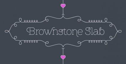 Brownstone Slab font