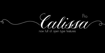 Calissa Pro font
