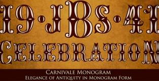 Carnivale Monogram font