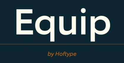 Equip font