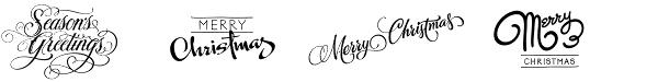 FM Christmas 1.0 font