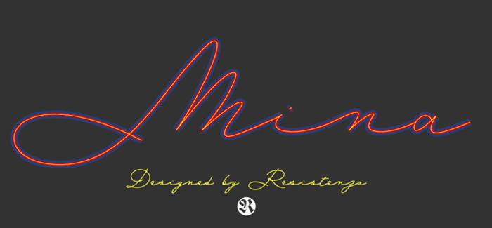 Mina font