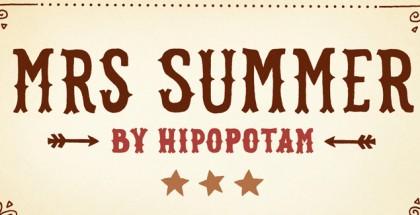 Mrs Summer font