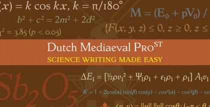 Dutch Mediaeval Pro ST font family