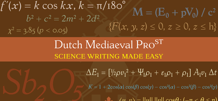 Dutch Mediaeval Pro ST font family