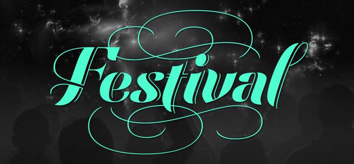 Festival Script font