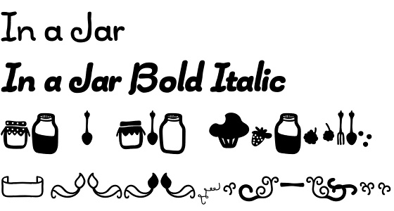 In a Jar font by LatinoType