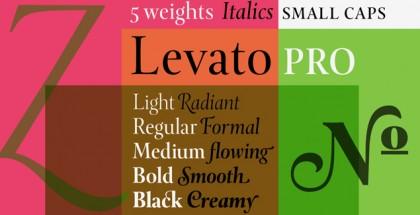 Levato Pro font