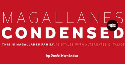 Magallanes Condensed font