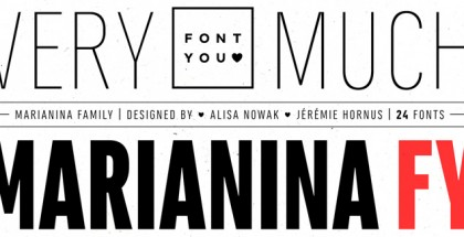 Marianina FY font