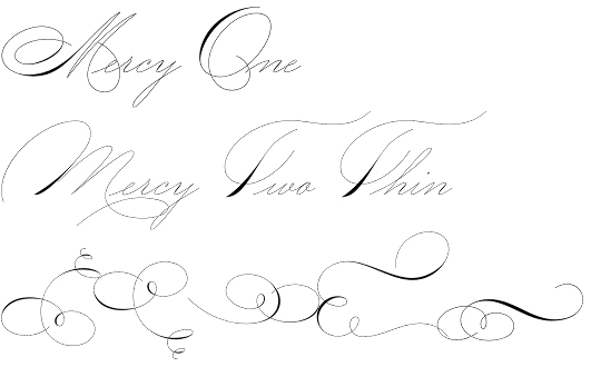 Mercy font by Misprinted Type