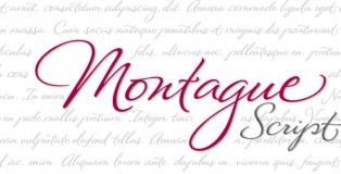 Montague Script font