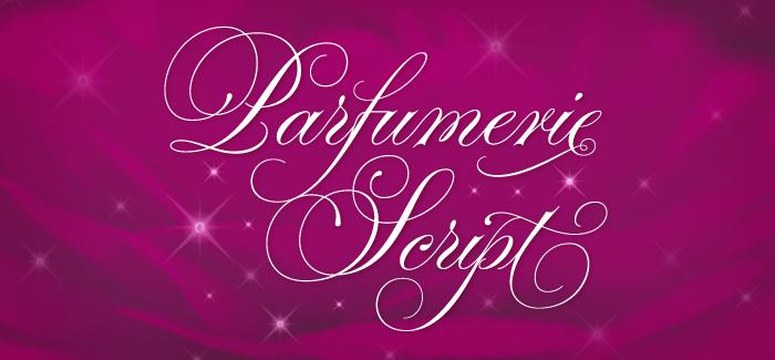 Parfumerie Script font