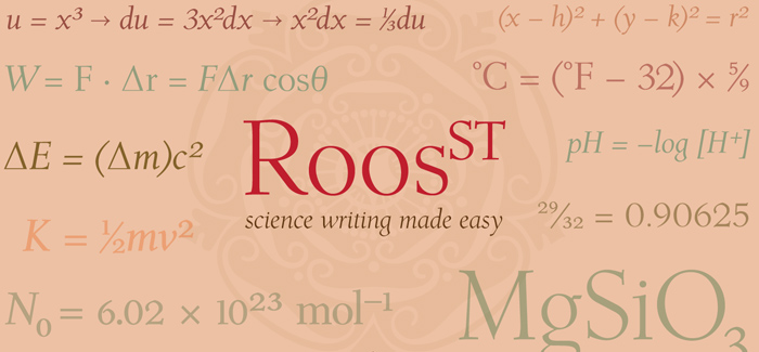 Roos ST font