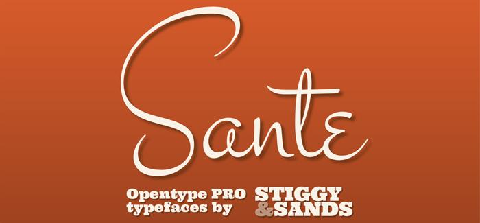 Sante Pro font