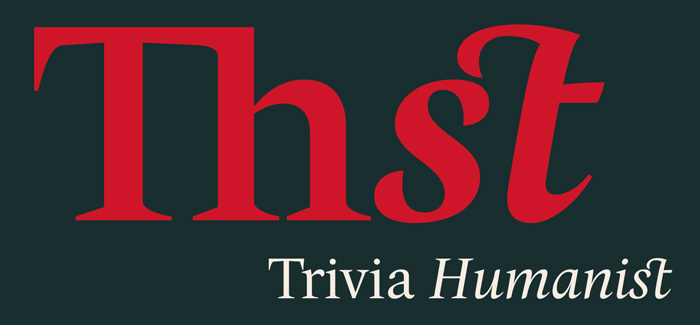 Trivia Humanist font