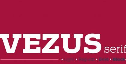 Vezus serif font family by Tour De Force