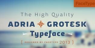 Adria Grotesk font
