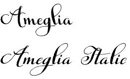 Ameglia font