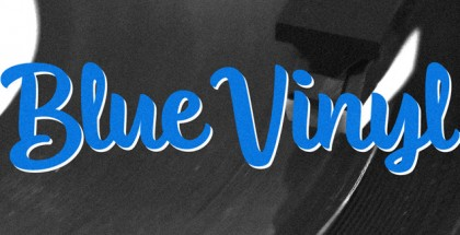 Blue Vinyl font