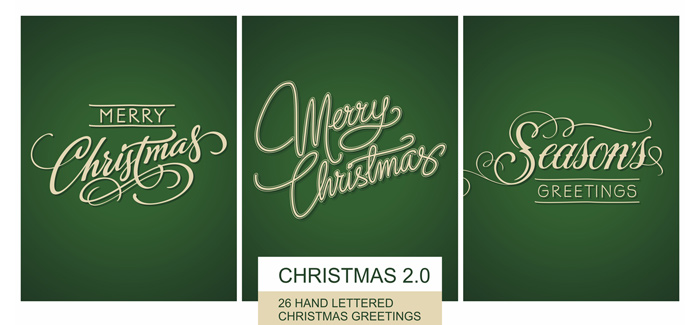 Christmas font v2 by The Fontmaker – the ultimate Christmas gift