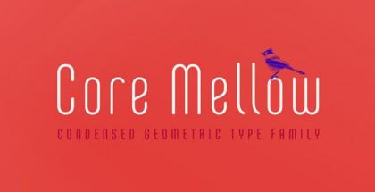 Core Mellow font