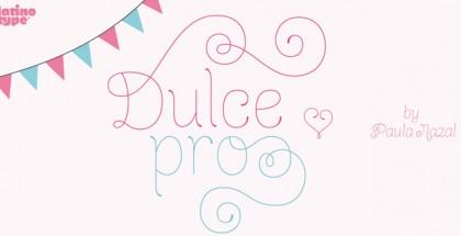 Dulce Pro font, Latinotype