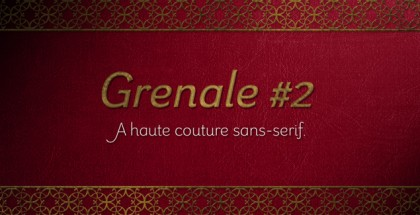 Grenale #2 font