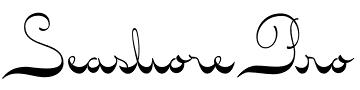 Seashore Pro font