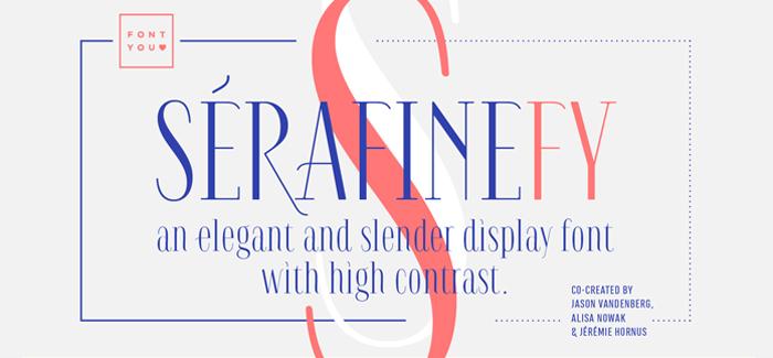 Serafine FY font